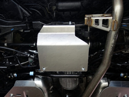 Nissan Murano 2016-Защита дифференциала (алюминий) 4 мм